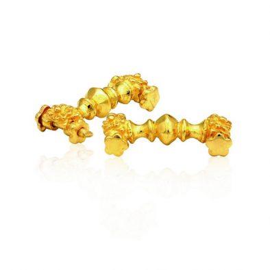 22ct Yellow Gold Thali Mugapu - Kai Design 01