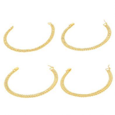 Men's Bracelet 22ct Yellow Gold Bundle 01