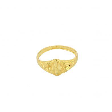 22ct Yellow Gold Baby Ring 01