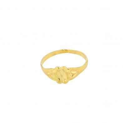 22ct Yellow Gold Baby Ring 02