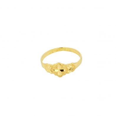 22ct Yellow Gold Baby Ring 03