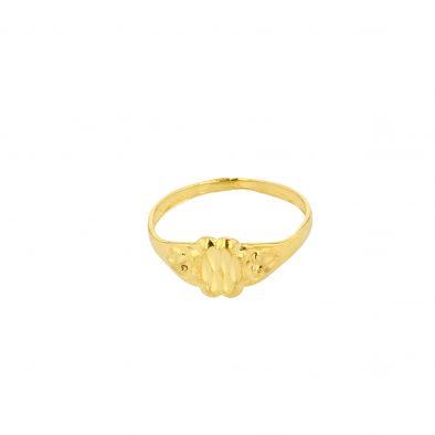 22ct Yellow Gold Baby Ring 04