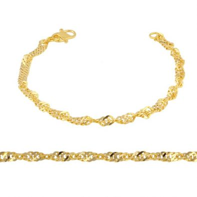 Ladies Bracelet 22ct Yellow Gold 07