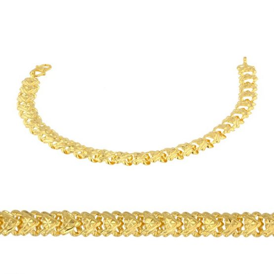 Ladies Bracelet 22ct Yellow Gold 01
