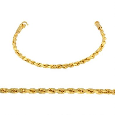 Ladies Bracelet 22ct Yellow Gold 02