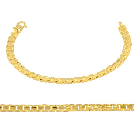 Ladies Bracelet 22ct Yellow Gold 03