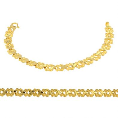 Ladies Bracelet 22ct Yellow Gold 04