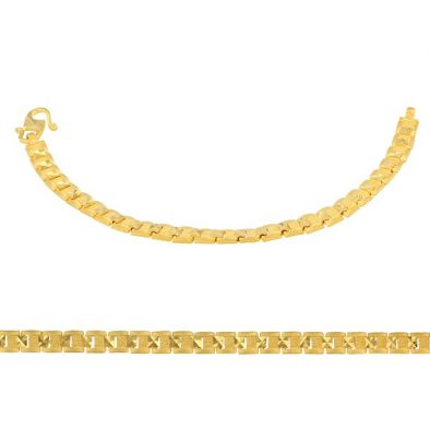 Ladies Bracelet 22ct Yellow Gold 06