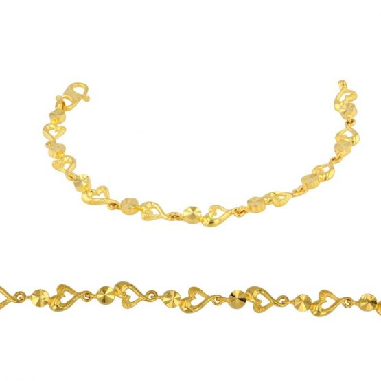 Ladies Bracelet 22ct Yellow Gold 05