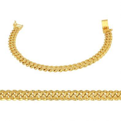 Men's Bracelet – Heavy 22ct Yellow Gold 03