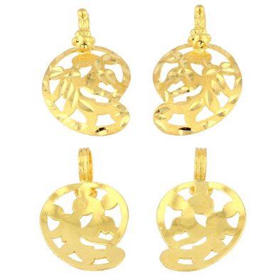22ct Yellow Gold Thali Mugappu - Mangai Design 01