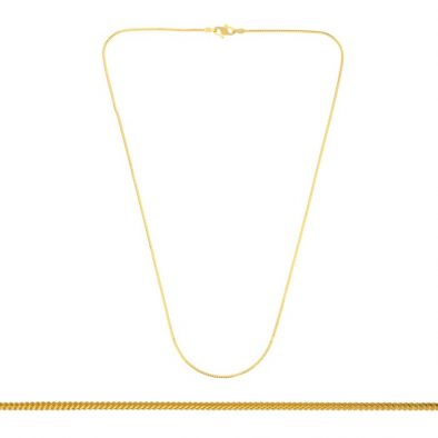 22ct Yellow Gold Chain 01