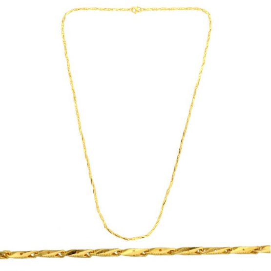 22ct Yellow Gold Chain 05
