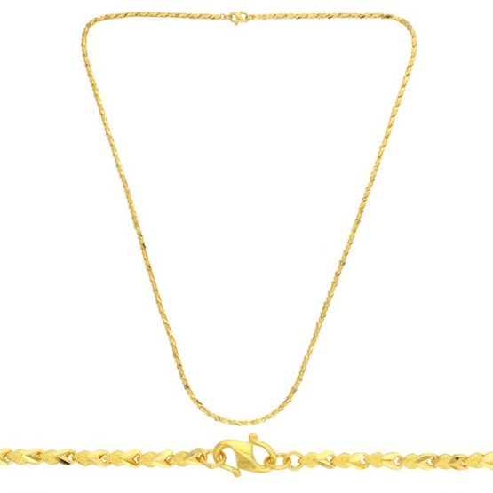 22ct Yellow Gold Chain 07