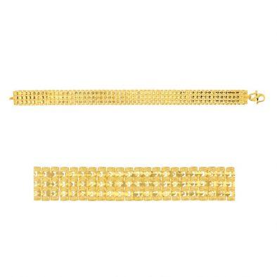 Men's Bracelet – Heavy 22ct Yellow Gold 02
