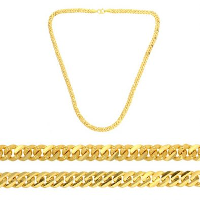 22ct Yellow Gold Chain 10