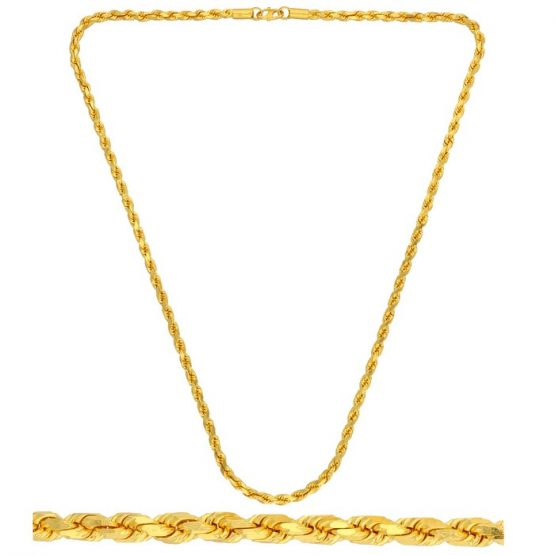 22ct Yellow Gold Chain 11