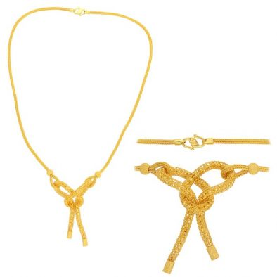 22ct Yellow Gold Heavy Necklace 09