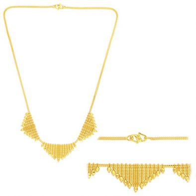 22ct Yellow Gold Heavy Necklace 01
