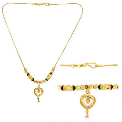 22ct Yellow Gold Heavy Necklace 03