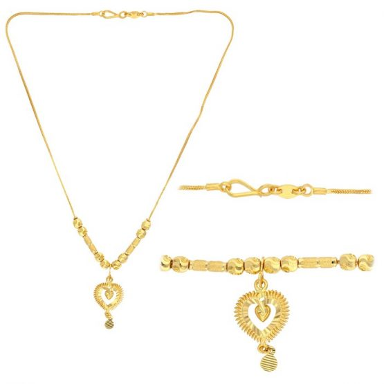 22ct Yellow Gold Heavy Necklace 04