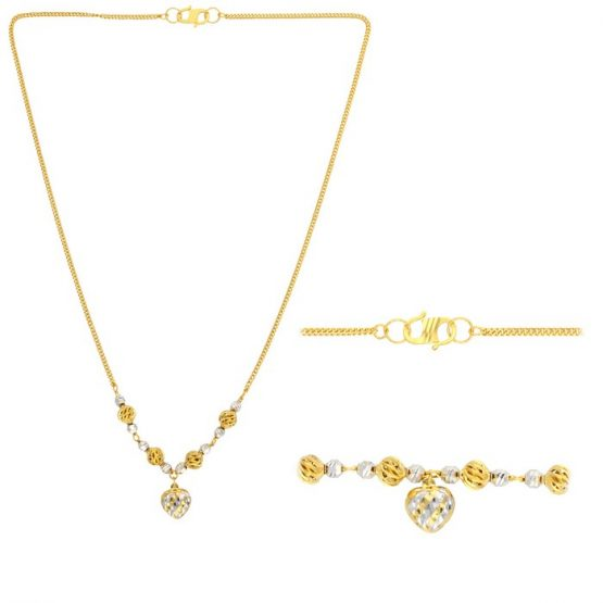 22ct Yellow Gold Heavy Necklace 05