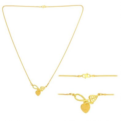 22ct Yellow Gold Heavy Necklace 06