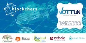 Vottun gana el premio blockchers con su solución de trazabilidad blockchain