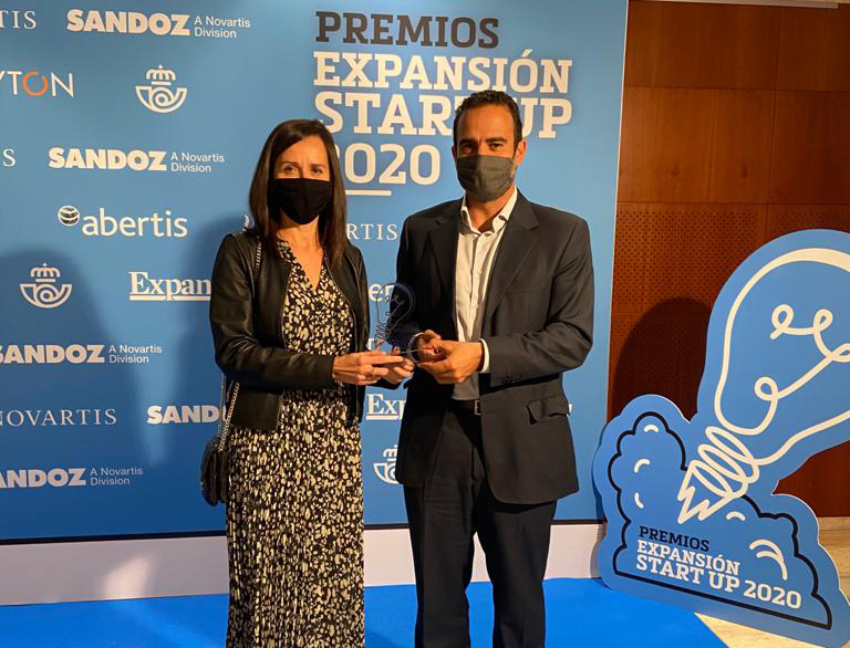 Primer Premio Premios Expansion Startup 2020