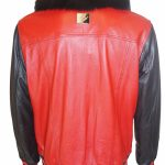 THE FOX BOSS LEATHER RED