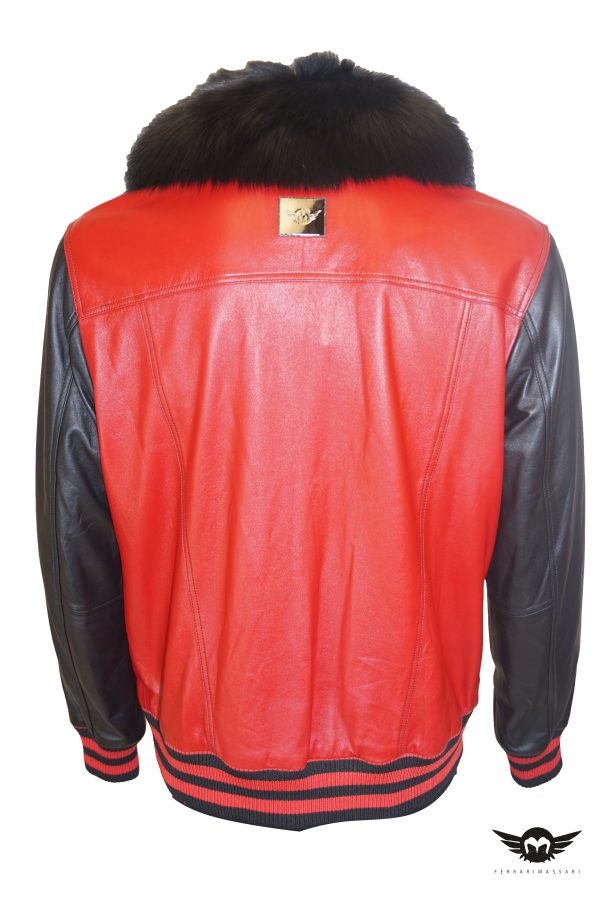 THE FOX BOX LEATHER RED