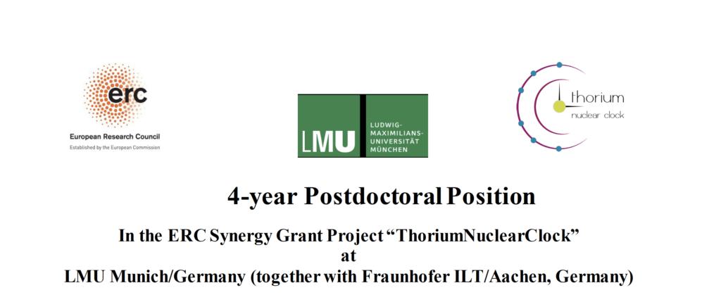 postdoctoral position in Munich