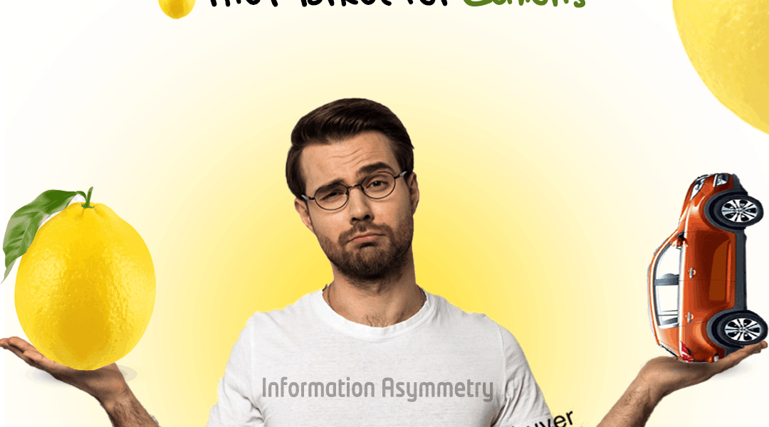 information Asymmetry – The Market for Lemons- سوق الليمون