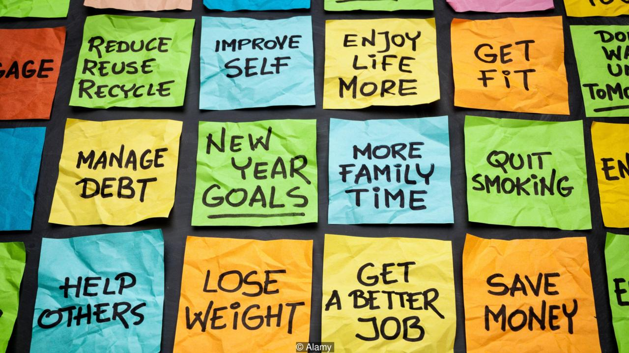 New Year resolutions 2018