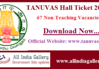 TANUVAS Hall Ticket 2020