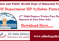 IPH Department HP Syllabus Pattern