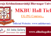 MKBU Hall Ticket