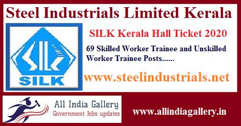 SILK Kerala Workmen Hall Ticket 2020