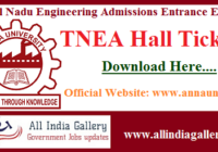 TNEA Hall Ticket