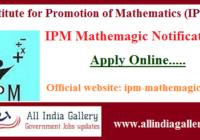 IPM Mathemagic Notification Application form