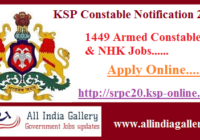 KSP APC Recruitment 2020