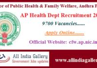 AP Health Dept Recruitment 2020