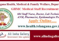 GHMC Medical Staff Recruitment