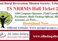 TS NRRMS Hall Ticket