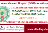 GGH Ananthapuramu Recruitment 2020