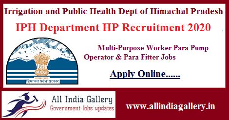 IPH Recruitment 2020