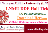 LNMU DDE Admit Card
