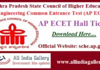 AP ECET Exam Hall Ticket