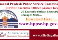 HPPSC Executive Officer Answer Key 2020