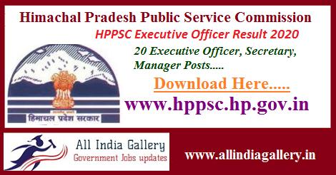 HPPSC-Executive-Officer-Result